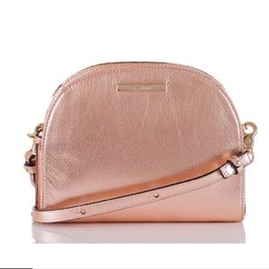 New with tags Brahmin Leah moonlit rose gold purse